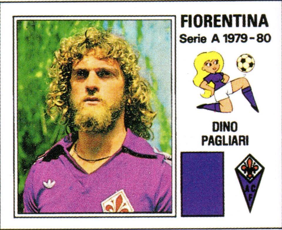 Figurina Dino Pagliari Fiorentina