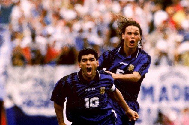 Insieme a Maradona a USA 94