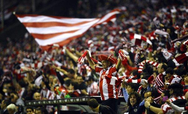 La curva biancorossa del Bilbao