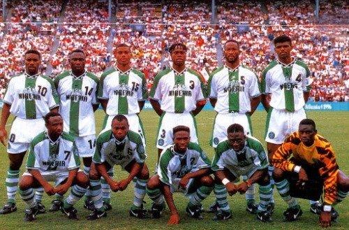 La Nigeria campione olimpica del 1996