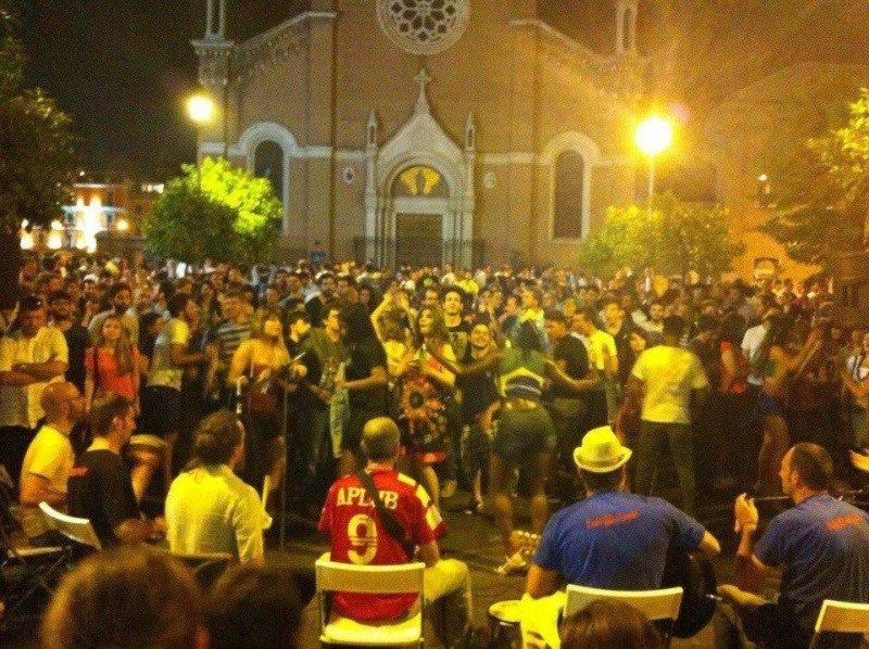 Musica, calcio e aggregazione: l'Atletico San Lorenzo in piazza