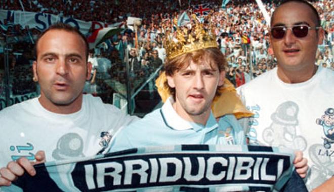 Beppe Signori alla Lazio